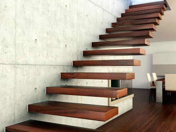 Scale in legno per soppalchi parma marina di massa scale - Soluzioni per scale interne ...